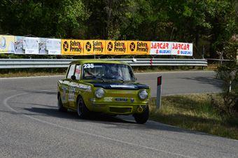 Rosaldo Chianucci (Etruria – Simca Rallye 2 – 235), CAMPIONATO ITALIANO VEL. SALITA AUTO STORICHE