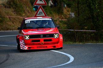 Lorenzo Cocchi (Valdelsa Cassic – Volkswagen Golf GTI – 317), CAMPIONATO ITALIANO VEL. SALITA AUTO STORICHE