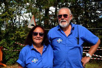 Giuseppe Dolfi e Lucia Innocenti, Ufficiali di gara postazione 16, CAMPIONATO ITALIANO VEL. SALITA AUTO STORICHE