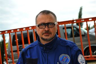 Bruno Orlandi, cronometrista partenza, CAMPIONATO ITALIANO VEL. SALITA AUTO STORICHE
