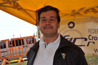 Andrea Ravenni, cronometrista partenza, CAMPIONATO ITALIANO VEL. SALITA AUTO STORICHE