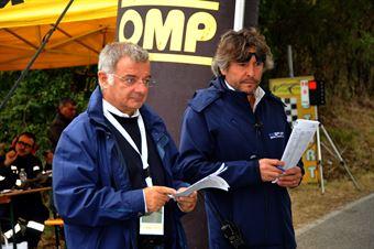 I Direttori di Gara al lavoro, CAMPIONATO ITALIANO VEL. SALITA AUTO STORICHE