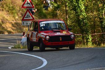 Sara Fiorini (Autobianchi A 112 Abarth   301), CAMPIONATO ITALIANO VEL. SALITA AUTO STORICHE