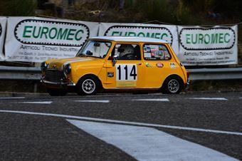 Gregor Froetscher (A   Bologna Squadra Corse – Austin Mini Cooper S – 114), CAMPIONATO ITALIANO VEL. SALITA AUTO STORICHE