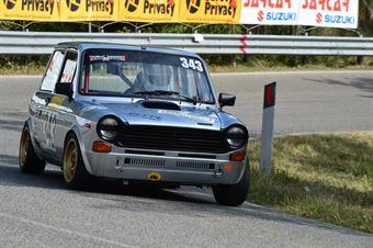 Jean Marc Giacometti (Autobianchi A 112 Abarth – 343), CAMPIONATO ITALIANO VEL. SALITA AUTO STORICHE
