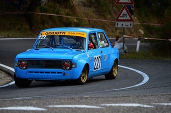 Lucio Gigliotti (Team Italia – Fiat 128 – 227), CAMPIONATO ITALIANO VEL. SALITA AUTO STORICHE