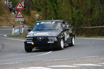 Sandro Gironi (Jolly Club – Alfa Romeo 75 Turbo – 15), CAMPIONATO ITALIANO VEL. SALITA AUTO STORICHE