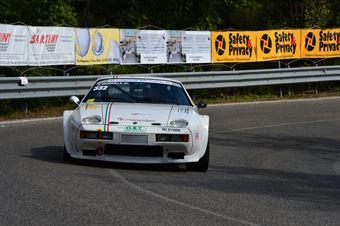 Francesco Gragnoli Bellugi (Cassia Corse – Porsche 928 S – 332), CAMPIONATO ITALIANO VEL. SALITA AUTO STORICHE