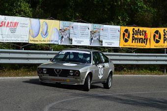 Leonardo Granai (Piloti Senesi – Alfasud Sprint  313), CAMPIONATO ITALIANO VEL. SALITA AUTO STORICHE