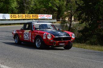 Fabrizio Lelli (Piloti Senesi –Fiat Abarth 124 Rally   252), CAMPIONATO ITALIANO VEL. SALITA AUTO STORICHE