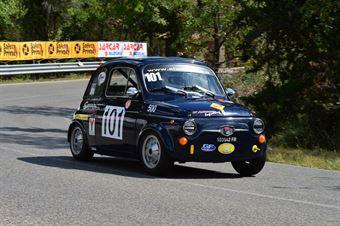 Michele Mascolo (Vesuvio – Fiat Giannini 500 TV – 101), CAMPIONATO ITALIANO VEL. SALITA AUTO STORICHE