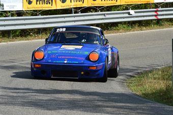 Ildebrando Motti (Bologna Squadra Corse – Porsche Carrera RS – 259), CAMPIONATO ITALIANO VEL. SALITA AUTO STORICHE