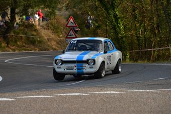 Rino Muradore (Red White – Ford Escort RS – 272), CAMPIONATO ITALIANO VEL. SALITA AUTO STORICHE