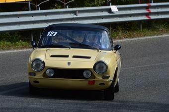 Franco Naldini (Chimera Classic – Simca 1200 Coupé 121), CAMPIONATO ITALIANO VEL. SALITA AUTO STORICHE