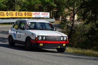 Giorgio Natali (Team Racing Terni – Fiat Ritmo Abarth   23), CAMPIONATO ITALIANO VEL. SALITA AUTO STORICHE