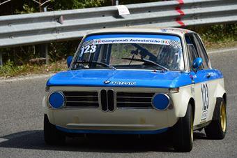 Vittorio Novo (Rododendri Historic – BMW 2002 Ti – 123), CAMPIONATO ITALIANO VEL. SALITA AUTO STORICHE