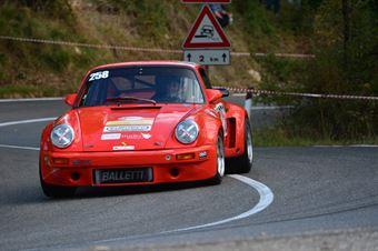 Massimo Perotto (Bologna Squadra Corse – Porsche Carrera RS – 258), CAMPIONATO ITALIANO VEL. SALITA AUTO STORICHE
