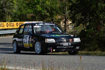 Matteo Petriella (Team Italia – Peugeot 205 Rally – 25), CAMPIONATO ITALIANO VEL. SALITA AUTO STORICHE