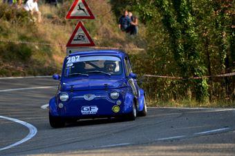Cesare Piccioni (Fiat Giannini 590 GT – 202), CAMPIONATO ITALIANO VEL. SALITA AUTO STORICHE