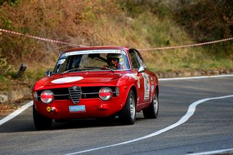 Maurizio  Elio Primo (Bologna Squadra Corse –Afa Romeo Giulia GT Junior – 119), CAMPIONATO ITALIANO VEL. SALITA AUTO STORICHE