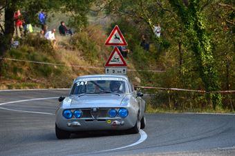 Alberto Razzolini (Team Italia – Alfa Romeo GTAM  247), CAMPIONATO ITALIANO VEL. SALITA AUTO STORICHE