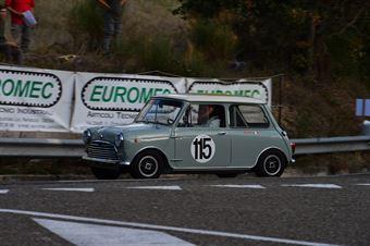 Alessandro Rinolfi (Bologna Squadra Corse – Morris Mini Cooper S – 115), CAMPIONATO ITALIANO VEL. SALITA AUTO STORICHE