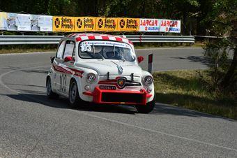 Robert (Bologna Squadra Corse   Fiat Abarth 850 TC – 103), CAMPIONATO ITALIANO VEL. SALITA AUTO STORICHE