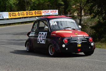 Libero Rossi (Fiat Giannini 590 – 204), CAMPIONATO ITALIANO VEL. SALITA AUTO STORICHE