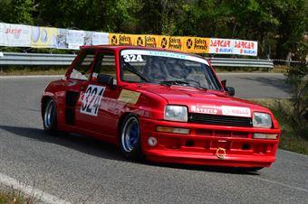 Franco Sivori (Erberth Racing –Renault 5 Turbo –324), CAMPIONATO ITALIANO VEL. SALITA AUTO STORICHE