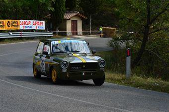 Antonio Vegni (Squadra Piloti Senesi – Autobianchi A 112 Abarth – 218), CAMPIONATO ITALIANO VEL. SALITA AUTO STORICHE