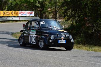Luigi Zardini (Abarth 695 SS – 102), CAMPIONATO ITALIANO VEL. SALITA AUTO STORICHE