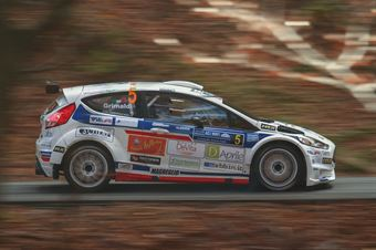 Giuseppe Bergantino, Fabio Grimaldi (Ford Fiesta #5,New Jolly Motor), CAMPIONATO ITALIANO WRC