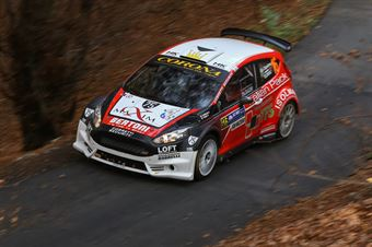 Giuseppe Dipalma, COBRA (Ford Fiesta #16, Etruria scrl), CAMPIONATO ITALIANO WRC