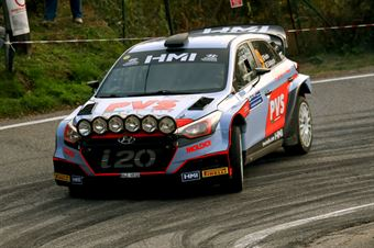Pedro, Emanuele Baldaccini (Hyundai i20 WRC #9, Car Racing), CAMPIONATO ITALIANO WRC