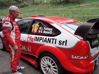 Luigi Fontana, Roberto Mometti (Ford Focus Wrc #11, Bluthunder), CAMPIONATO ITALIANO WRC