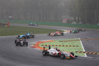 Artem Petrov (DR Formula,Tatuus F.4 T014 Abarth #42), Partenza race 2  , ITALIAN F.4 CHAMPIONSHIP POWERED BY ABARTH
