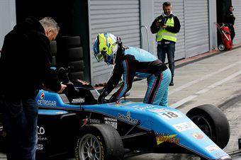 Giorgio Carrara (Jenzer Motorsport,Tatuus F.4 T014 Abarth #18)    , ITALIAN F.4 CHAMPIONSHIP POWERED BY ABARTH