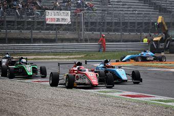 Enzo Fittipaldi (Prema Power Team,Tatuus F.4 T014 Abarth #74), Kush Maini (Jenzer Motorsport,Tatuus F.4 T014 Abarth #15)       , ITALIAN F.4 CHAMPIONSHIP POWERED BY ABARTH