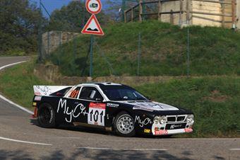 Bianchini Marco,Imerito Maurizio(Lancia Rally 037,Rally club team,#101), CAMPIONATO ITALIANO RALLY AUTO STORICHE