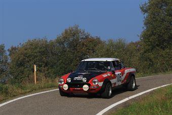 Finati Maurizio,Codotto Martina(Fiat 124 Abarth,Rally Club Team,#105), CAMPIONATO ITALIANO RALLY AUTO STORICHE