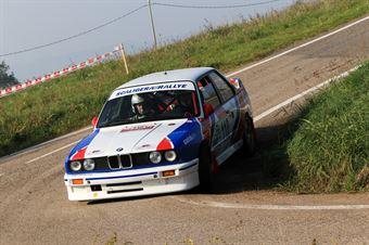 Bombieri Raffaele,Falezza Michele(Bmw M3,Scaligera Rally,#110), CAMPIONATO ITALIANO RALLY AUTO STORICHE