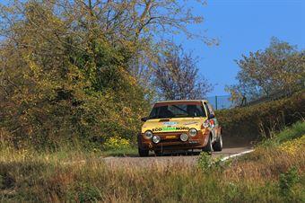 Delle Coste Luca,Franca Regis Milano((fiat Ritmo 75 Abarth,Rally&co,#118), CAMPIONATO ITALIANO RALLY AUTO STORICHE