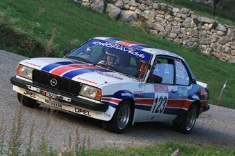 Paganini Renato,Razza Carmen(Opel Ascona,Efferre Motorsport,#123), CAMPIONATO ITALIANO RALLY AUTO STORICHE
