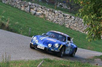 Capsoni Luigi,Zambiasi Lucia(Renault alpine A110,Team Bassano,#127), CAMPIONATO ITALIANO RALLY AUTO STORICHE