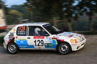 Zanini Curzio,Zanini Enrico(Peugeot 205,New Rally Team,#129), CAMPIONATO ITALIANO RALLY AUTO STORICHE