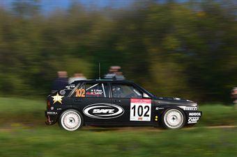 Lucky,Pons Fabrizia(Lancia Delta,Rally Club Team,#102), CAMPIONATO ITALIANO RALLY AUTO STORICHE