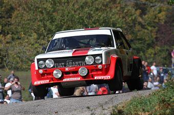 Battistolli Alberto,Cazzaro Luigi(Fiat 131 Abarth,Rally Club Team,#111), CAMPIONATO ITALIANO RALLY AUTO STORICHE