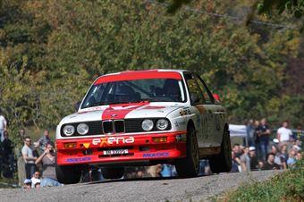 Pedretti Giulio,Rossi Davide(BMW M3,Team Bassano,#112), CAMPIONATO ITALIANO RALLY AUTO STORICHE