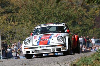 Guglielmi Giulio,Martini Giorgio(Porsche 911,Omega,#117), CAMPIONATO ITALIANO RALLY AUTO STORICHE
