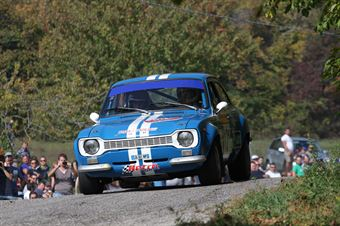 Righi Rino,Iacolutti Mauro(Ford Escort Mk1 RS,#121), CAMPIONATO ITALIANO RALLY AUTO STORICHE